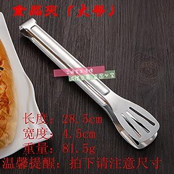 Xing Lin Pinzas De Cocina Acero Inoxidable Barbacoa Clip Cocina Bistec Alimentos Freír Alimentos Pan Pan