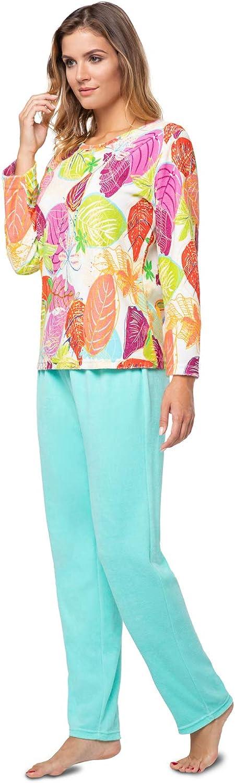 e.FEMME® Kamila 2213 - Pijama de rizo para mujer