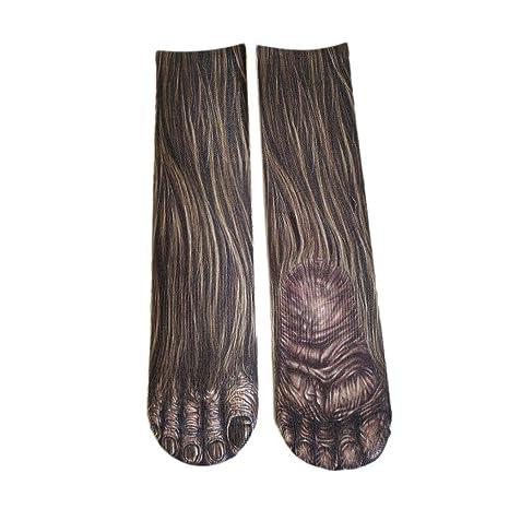Calcetines patas de animales calcetines patas pollo patas gato calcetines mujer hombres niños dibujo animado caltines
