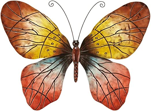 Deco 79 64263 Wall Metal Butterfly for Wall Decor