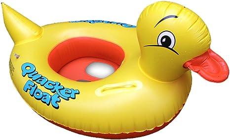 eonkoo Cute diseño de pato amarillo para bebé inflable piscina ...