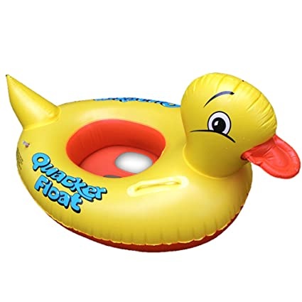 eonkoo Cute diseño de pato amarillo para bebé inflable piscina boya flotador para niños regalo agua