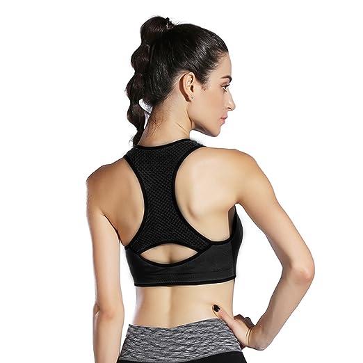 fcddcdb6f1dd8 HeartFor Sports Bras for Women High Impact