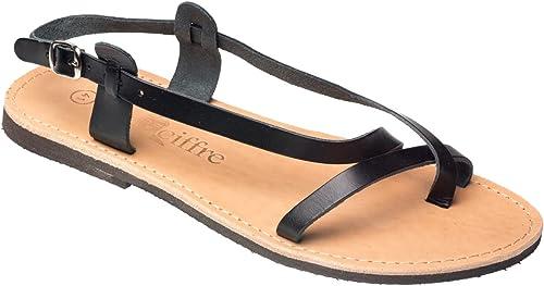 Damen und Herren Riemchen Sandalen Sandaletten Riemen Sandalen Sandaletten 36 46