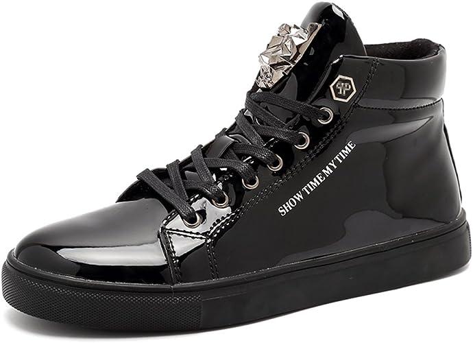 Amazon.com: igxx Zapatillas Deportivas para Hombre High ...