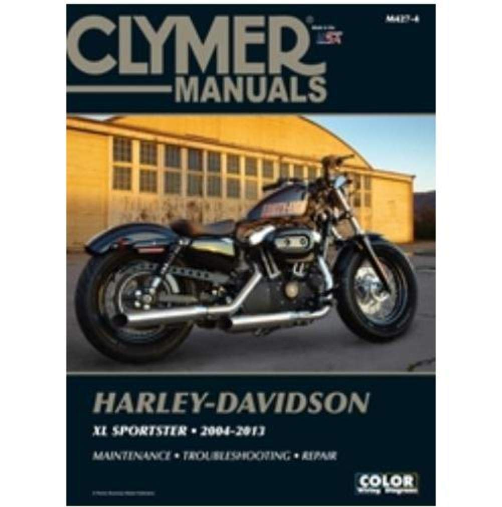 Amazon.com: Clymer Harley-Davidson XL883 & XL1200 Sportster (2004-2013)  (53150): Automotive