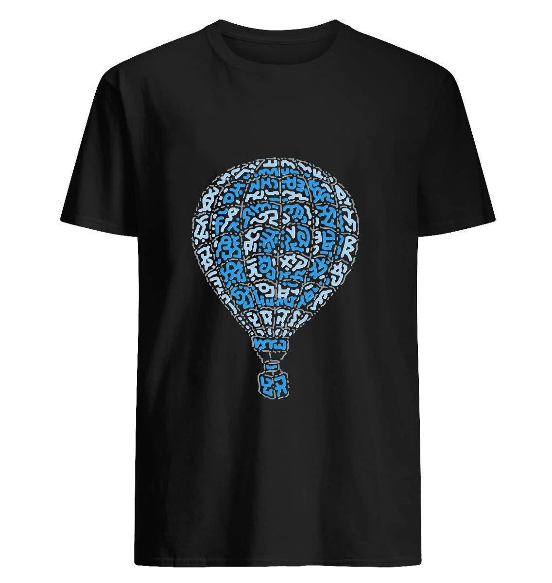 Blue Hot Air Balloon 69 T Shirt For Unisex