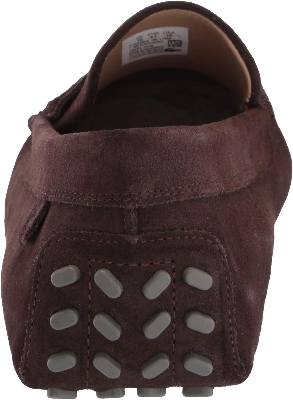 Lacoste Mens Suede PLAISANCE 120 1 Shoes Slipon 7-39CMA00167E8 RRP £120.00
