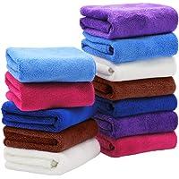 Pano de limpeza KesYOO Pano de limpeza de microfibra, toalhas, absorção de água, pano, pano de cozinha, pano de lavagem…