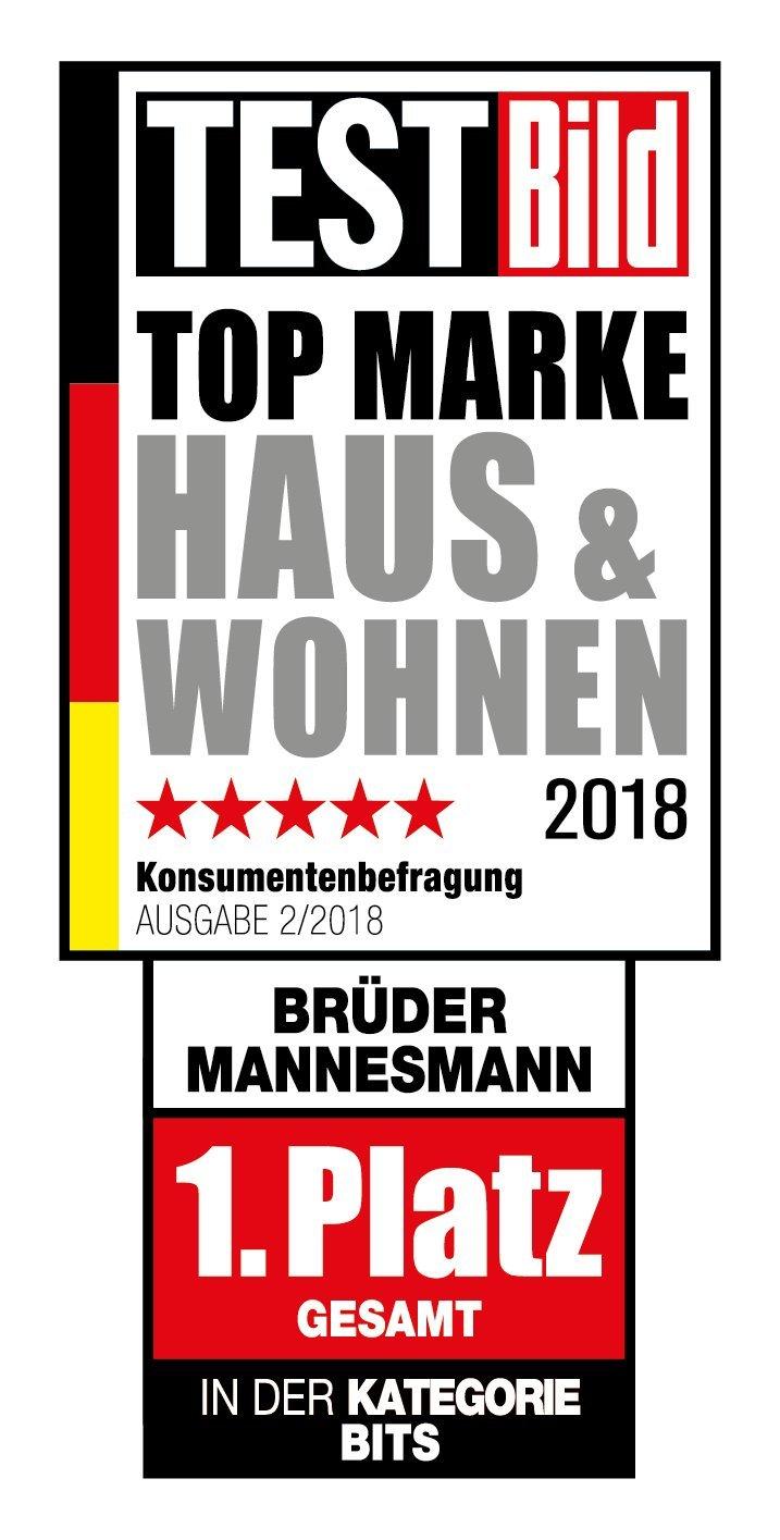 Mannesmann M98430 - Maletín con llaves de vaso y otras herramientas (215 piezas, tamaño: 12x36x51 cm) Brüder Mannesmann Werkzeuge