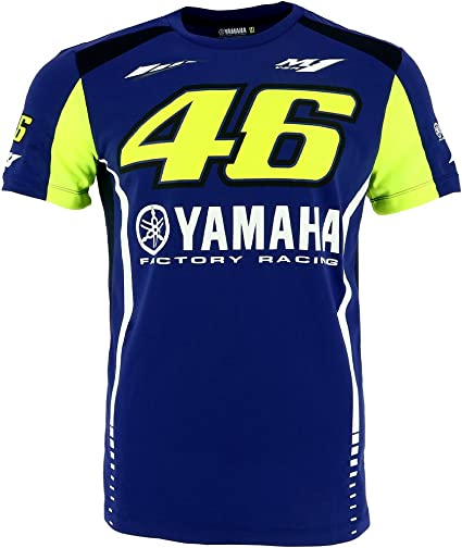 Valentino Rossi VR46 Moto GP M1 Yamaha Factory Racing Team T-Shirt Official New