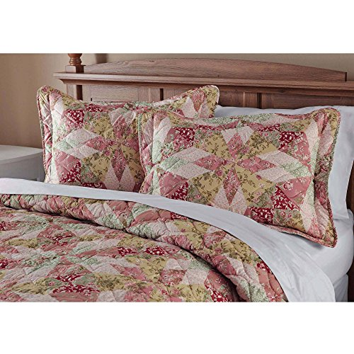 "Antique Garden Standard Sham 20""x 26"""
