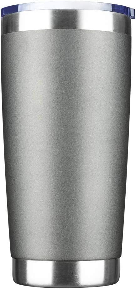 Stainless Steel Vacuum Insulated Double Wall.. IDEUS 20oz Tumbler with Lid