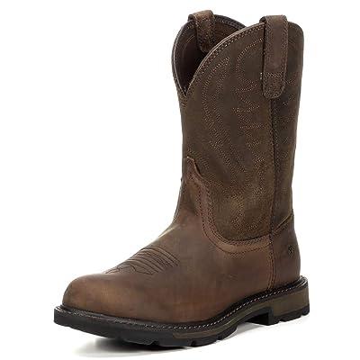 ARIAT Men's Groundbreaker Pull-on Work Boot   Industrial & Construction Boots