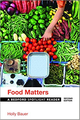 Food matters bedford spotlight reader holly bauer 9781319045272 food matters bedford spotlight reader holly bauer 9781319045272 amazon books forumfinder Choice Image