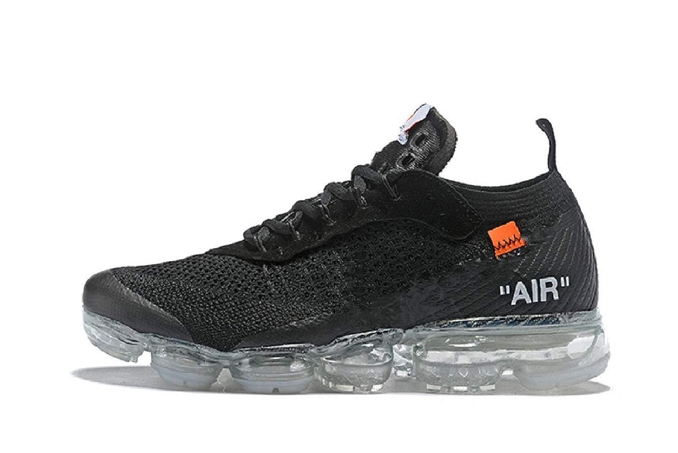 40.5 EU, Noir Vapormax 2018 Hommes et Femmes Chaussures de Sport de Plein air Coussin dair Chaussures de Course Chaussures de Sport