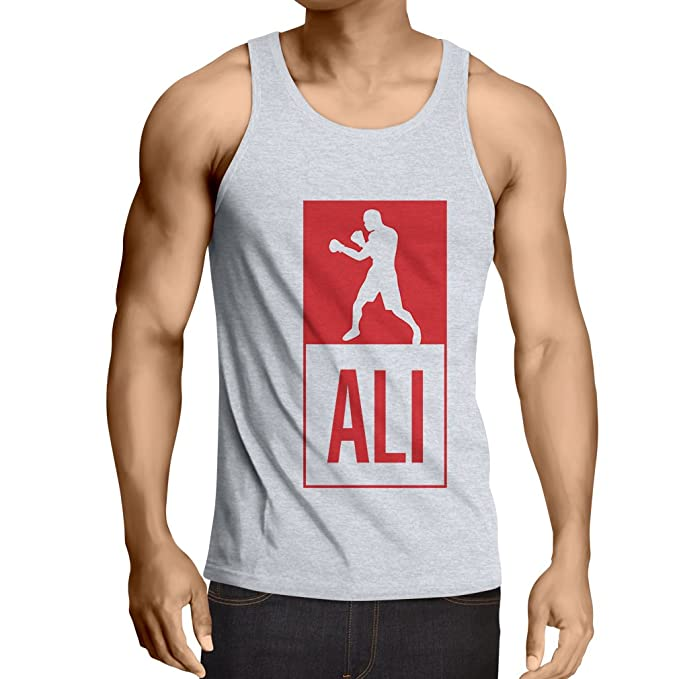 Camisetas de Tirantes para Hombre Boxeo - en el Estilo de Lucha para Entrenamiento, Deportes, Ejercicio, Funcionamiento, Ropa de Fitness: Amazon.es: Ropa y ...