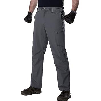 FREE SOLDIER Herren Tactical Cargo Pants leicht Quick Dry Nylon  wasserabweisend Convertible Pants für Wandern - 1b62865d40