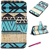 LG G4 Case, Premium Flip PU Leather Wallet Case Cover Card [Magnetic Closure] for LG G4 2015 Release, Come with Stylus -[Green]