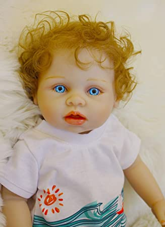 Amazon.es: OUBL 18pulgadas 45 cm Reborn muñecas Bebe Baby Doll Boy ...