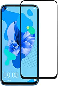 Huawei Nova 5T - Honor 20 & 20 Pro Tempered Glass Screen Protector Shock Proof 9H Full Coverage Edge To Edge Glass Protector For Huawei nova 5T, Honor 20 & 20 Pro – Black by Nice.Store.UAE