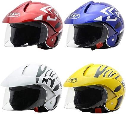 Amazon.es: Casco de Moto para niños Casco Moto Electrica para ...
