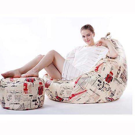 Miraculous Amazon Com Ainiyf Sofa Sack Plush Ultra Soft Bean Bag Machost Co Dining Chair Design Ideas Machostcouk