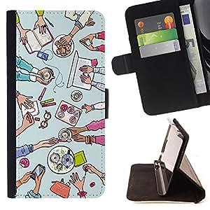King Case - FOR LG G3 - Do not seat your love - Prima caja de la PU billetera de cuero con ranuras para tarjetas, efectivo Compartimiento desmontable y correa para la mu?eca