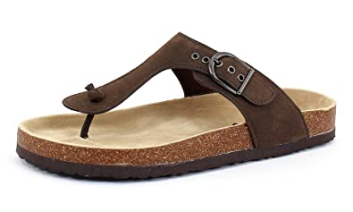 f1097cafc OUTWOODS Women s Bork 37 Brown Nubuck Synthetic Sandals 6 B(M) US