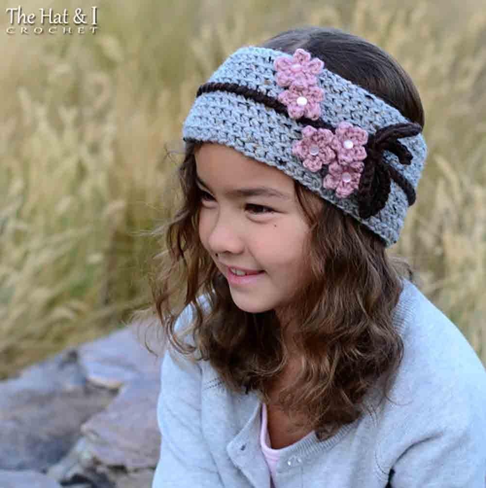 Amazon Cherry Blossom Headwrap Crochet Headband Pattern