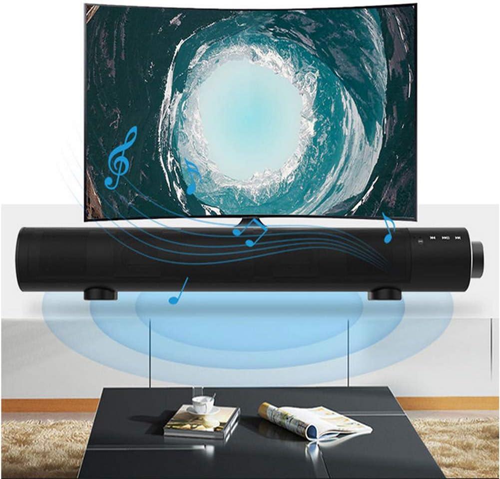 WHCCL Barra de Sonido, Altavoces Bluetooth portátiles para TV, Altavoces duales, para TV, PC, teléfono Celular, proyector de tabletas: Amazon.es: Hogar