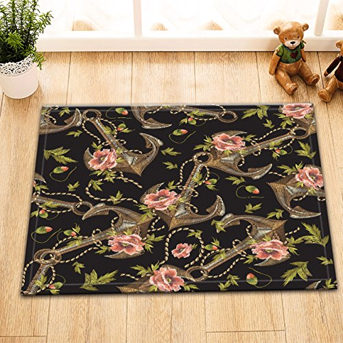 lb-rustic-anchor-design-small-shower-carpet-soft-flannel-and-non-slip-rubber-backing-anchor-flowers-