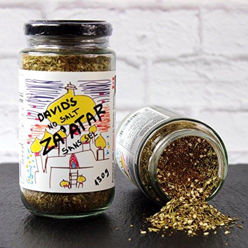 David's Za'atar (Zaatar) Seasoning Rub SALT FREE … (9.2 oz (2 pack))