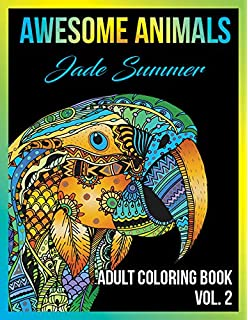 Adult Coloring Books Awesome Animal Designs And Stress Relieving Mandala Patterns For Relaxation