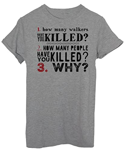 T-Shirt THE WALKING DEAD LE 3 DOMANDE - SERIE TV - by iMage