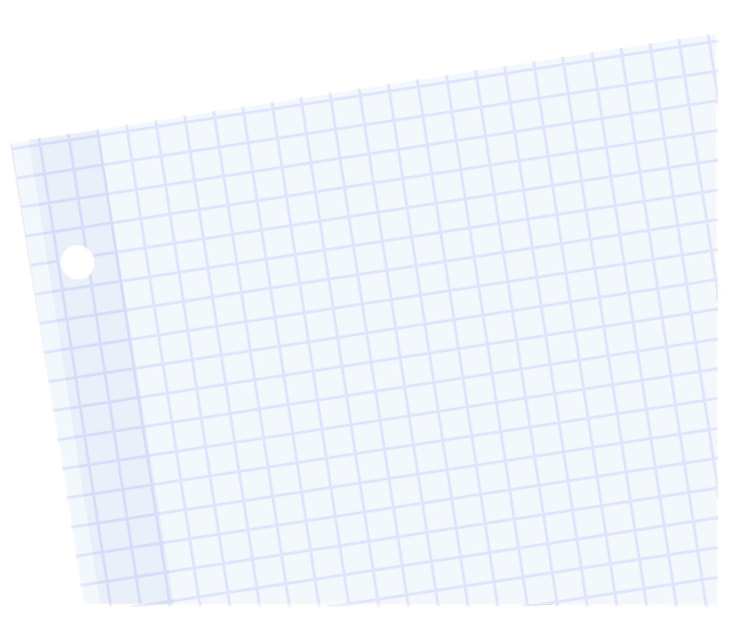 Mead Filler Paper, Loose Leaf Paper, Graph Ruled Paper, Q4, 100 Sheets, 10-1/2'' x 8'', Reinforced, White, 3 Pack (38040) by Mead (Image #3)