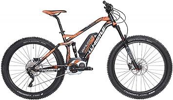 Mountain Bike eléctrica eBike Whistle B-Rush Plus, motor Bosch CX Cruise 400 Wh Purion, 10 velocidades, color negro y naranja, tamaño M 18 pulgadas (170 – 185 cm): Amazon.es: Deportes y aire libre