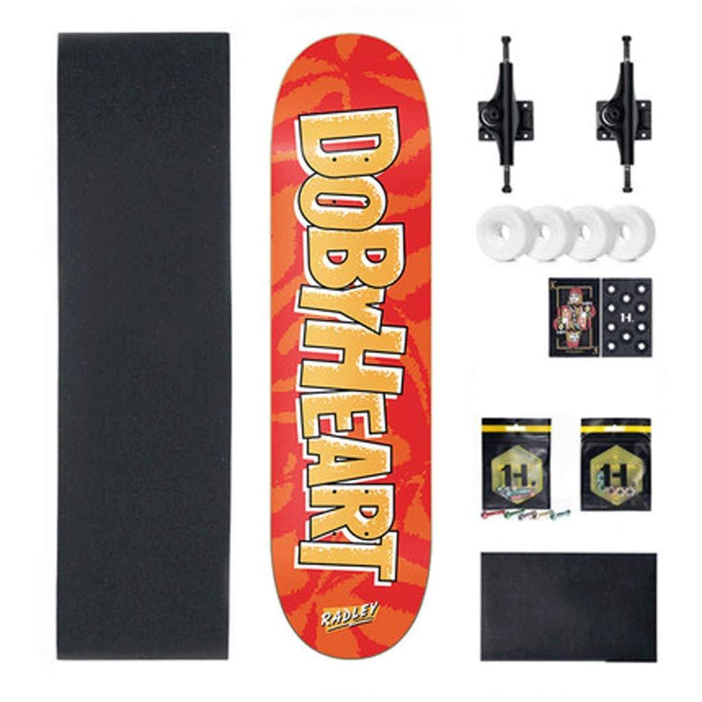 最低価格の プロのバイラテラル傾斜スケートボード初心者のティーンボーイズとガールズスケートボード (色 Orange (色 : Orange) Orange) B07L3PGT32 Orange, ドッグブティックRIRA:27bd0b40 --- a0267596.xsph.ru