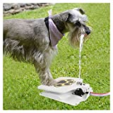 Durability Trouble-Free Outdoor Dog Pet Drinking Doggie Water Fountain 41'' Hose Pet Needs