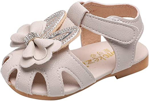 Kids Shoes Voberry,Toddler Kids Baby Girls Summer Bowknot Sweet Party Princess Shoes Sandals