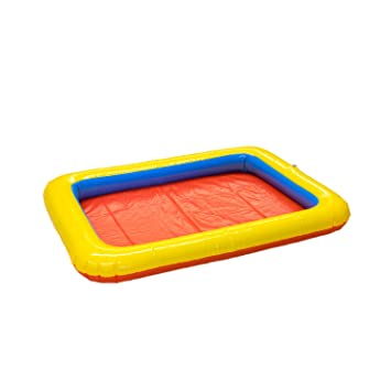 Mini caja de arena hinchable de Umoi para arena mágica Super Sand, arena cinética