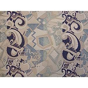 Amazon Com Optica Blue Loveseat Ottoman Futon Cover 54