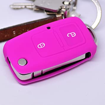 Key Soft Case Cover Funda Protectora Llave del Coche VW Golf Fox ...