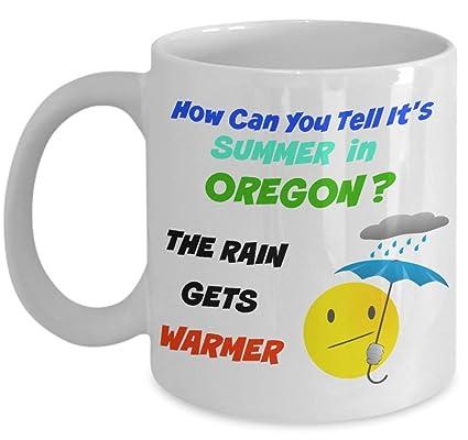 オレゴンは雨で有名