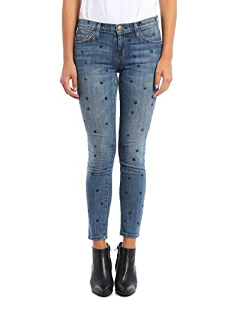 f08af9beeb56c Current/Elliott The Stiletto Skinny in Revival with Mini Navy Stars (25)