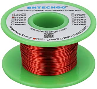 BNTECHGO - Cable magnético 22 AWG - Hilo de cobre