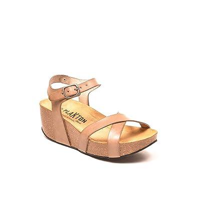 73da9f7248ec2 PLAKTON - So Fine Camel  Amazon.fr  Chaussures et Sacs