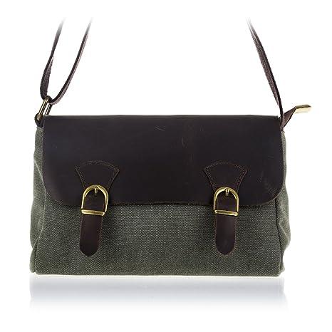 FIRENZE ARTEGIANI.Bolso satchel piel auténtica.Bolso-cartera cuero genuino vintage.Estructura