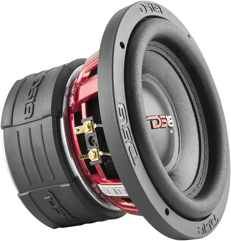 DS18 EXL-X6.4D Subwoofer in Black - 6