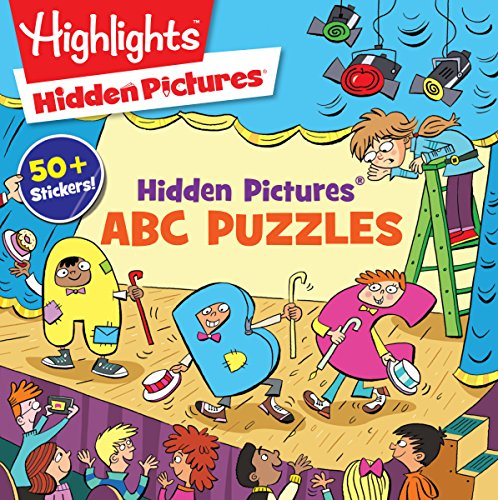 Hidden Pictures® ABC Puzzles (HighlightsTM Puzzle Activity Fun)